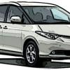 トヨタ エスティマ買取概算価格を営業電話無しで(ACR/AHR/GSR)